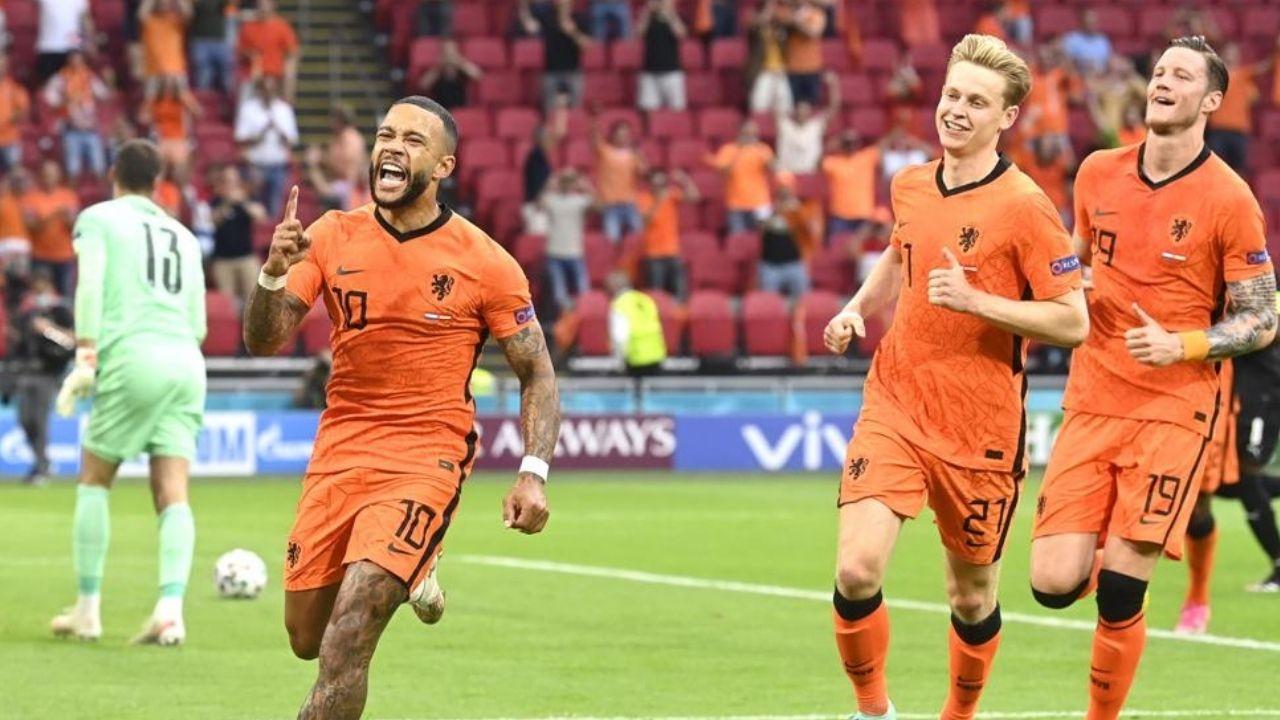 Holanda venció 2-0 a Austria y se metió a los octavos de la Eurocopa 2020