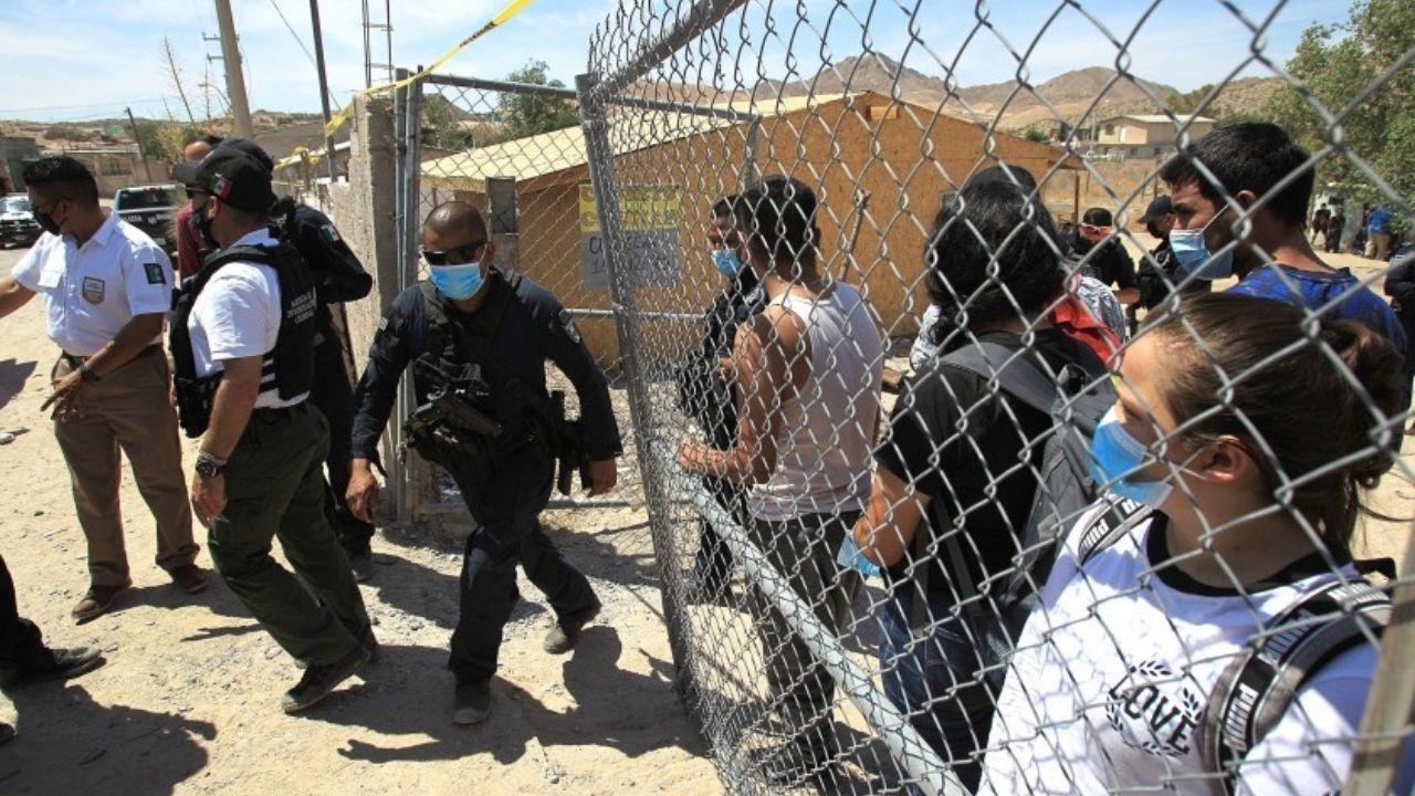 Rescatan en México a 140 migrantes secuestrados, entre ellos varios hondureños, cerca de la frontera con Estados Unidos
