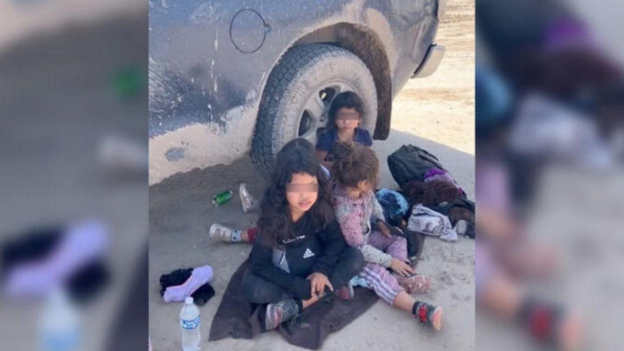 Dos niñas hondureñas halladas en frontera esperan en Miami a sus padres