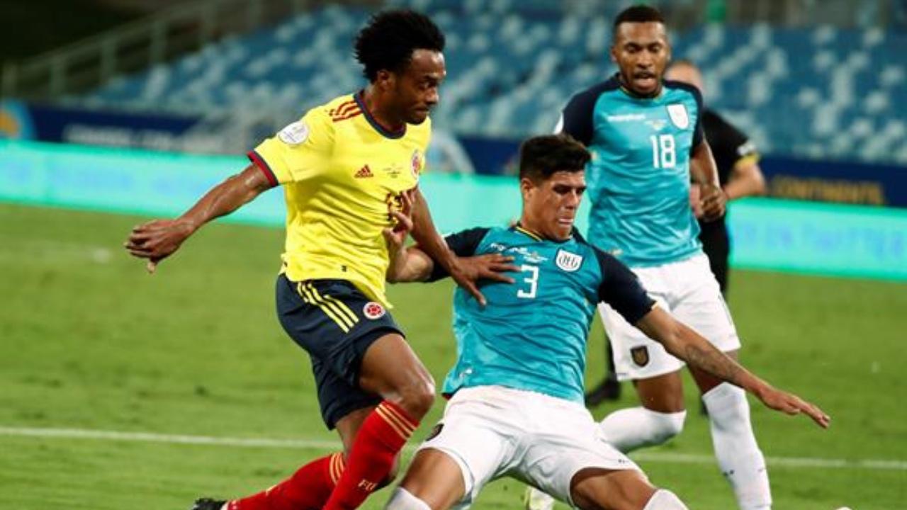 Una fantasía de Cardona da revancha a Colombia ante Ecuador en el debut