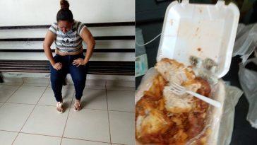 hondureña pretendia ingresar droga en plato de comida