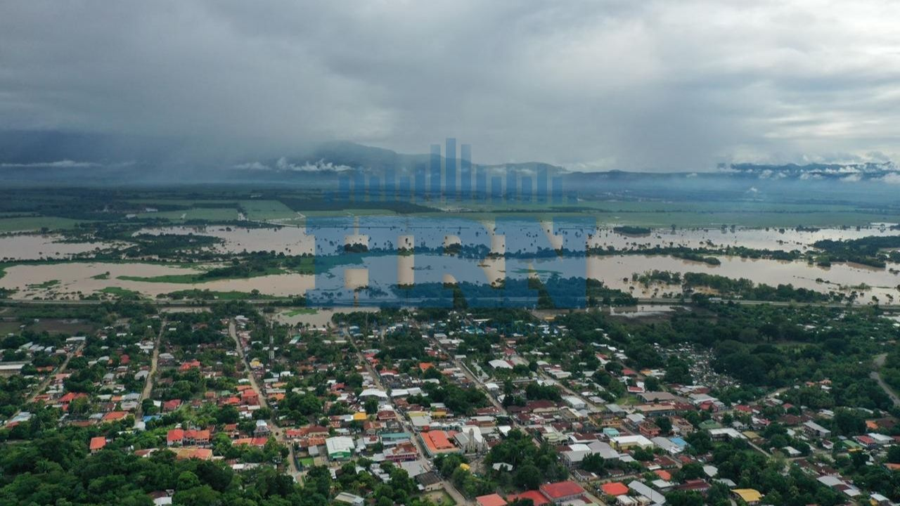 ¡Alerta! Estos sectores de Cortés y Yoro en riesgo de inundaciones por crecida de Río Ulúa