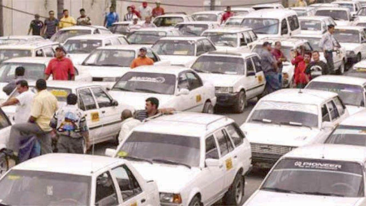 Más de 22 mil taxistas hondureños a paro de labores el jueves a nivel nacional, anuncia Víctor Aguilar