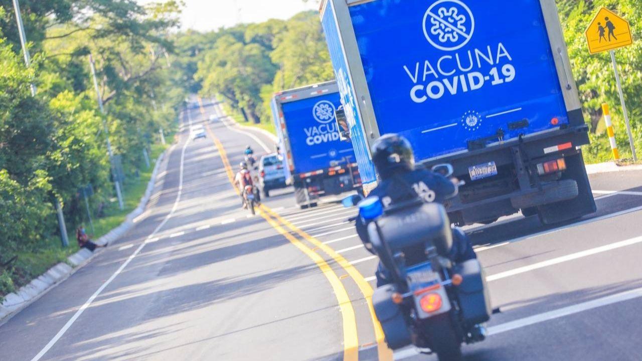 Llega a Honduras otro lote de vacuna contra el covid donado por el presidente de El Salvador Nayib Bukele