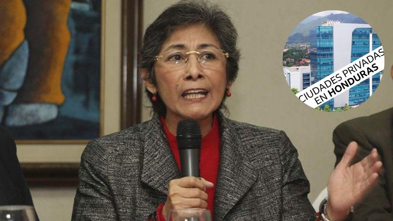 Hay un plan macabro detrás de las ZEDE, buscan el bienestar para 'ciertos ciudadanos': abogada Maribel Espinoza