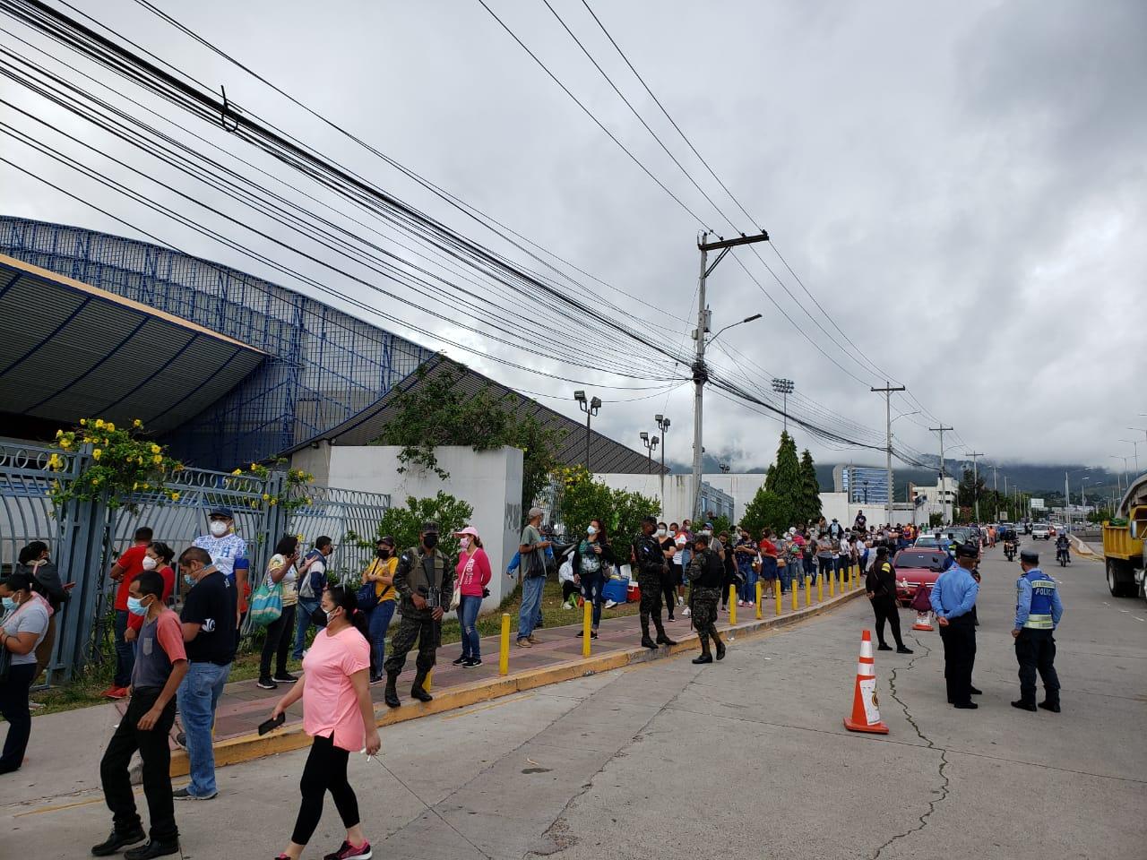 Comienza el Vacunatón en el Distrito Central y en San Pedro Sula una jornada de 24 horas de vacunación contra el covid