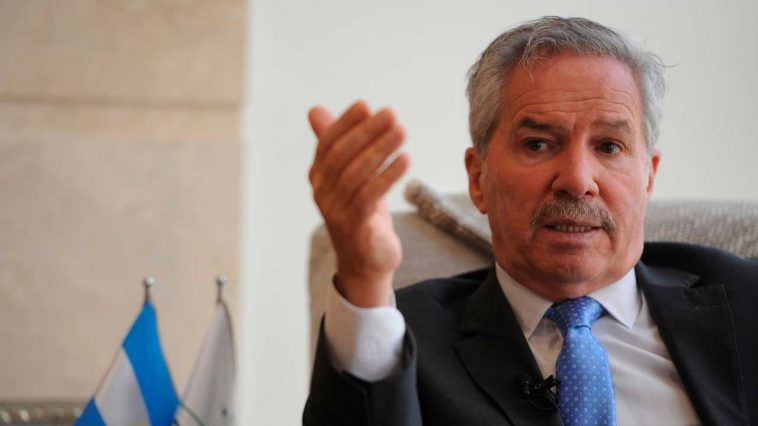 El canciller de Argentina, Felipe Solá.