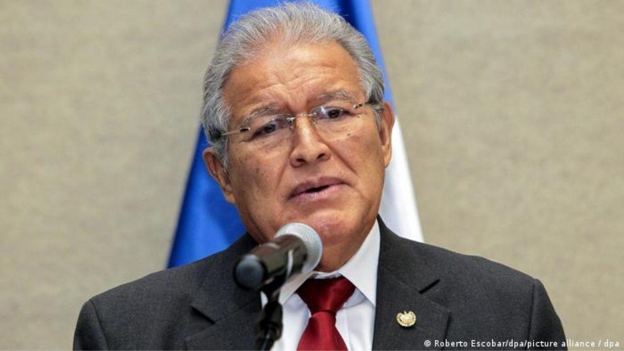 Por corrupción ordenan la captura del expresidente salvadoreño Sánchez Cerén