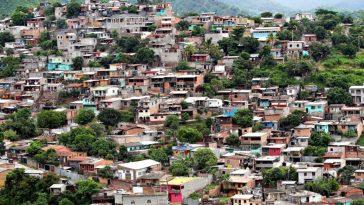 barrios y colonias Distrito Central