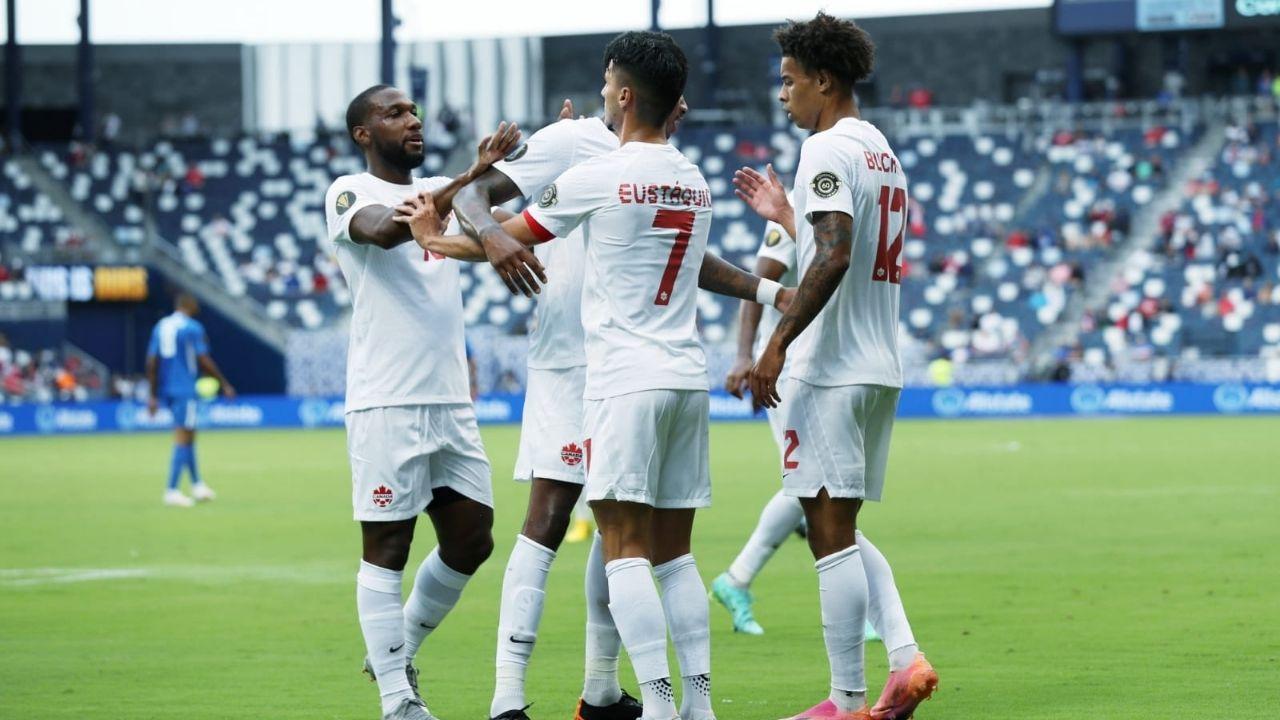 Canadá arranca su camino en la Copa Oro 2021 con goleada sobre Martinica