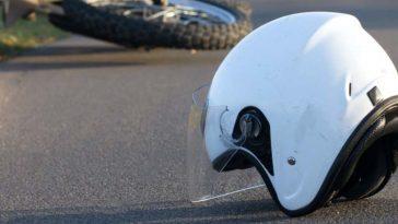 motociclista se salva de morir