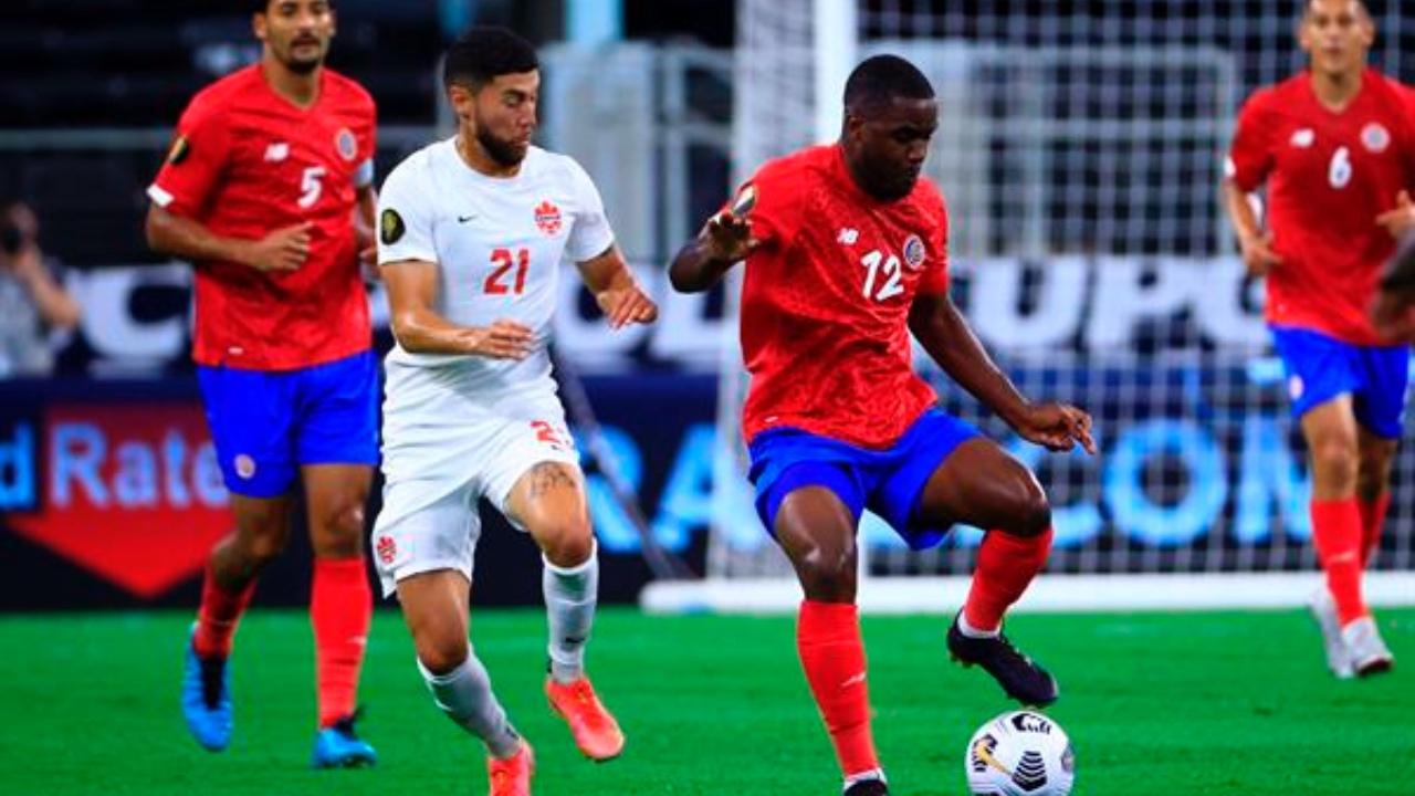 Canadá elimina a Costa Rica y clasifica a semifinales en Copa Oro 2021