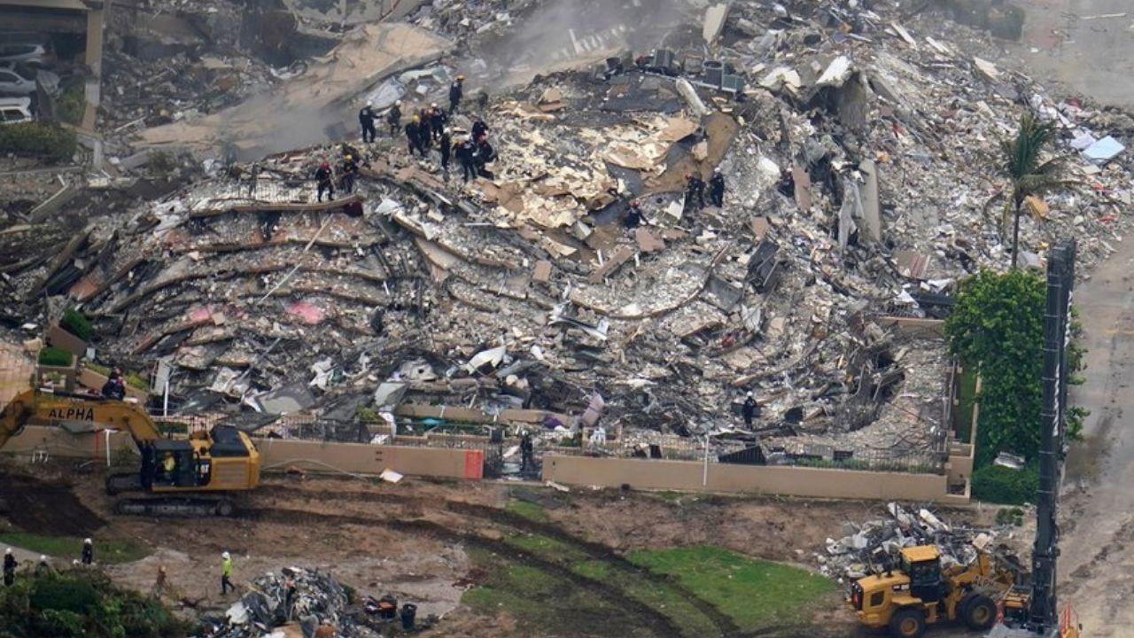 Ya son 96 los cuerpos hallados en los escombros del edificio de Miami