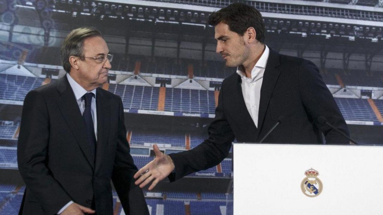 Florentino Pérez: 'Raúl y Casillas son las dos grandes estafas del Real Madrid'