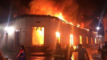Incendio Honduras