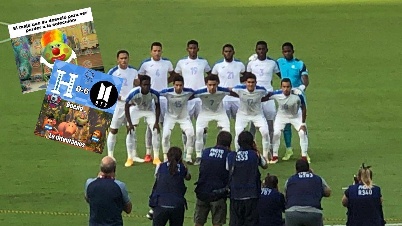 Con divertidos memes destrozan a la Sub-23 de Honduras y se burlan de los que madrugaron a ver el partido