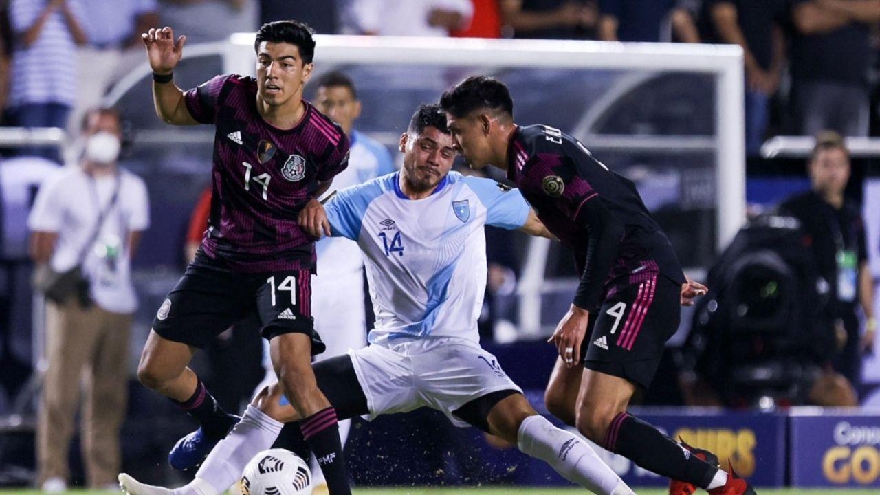 México goleó a Guatemala y la dejó sin posibilidades en la Copa Oro 2021