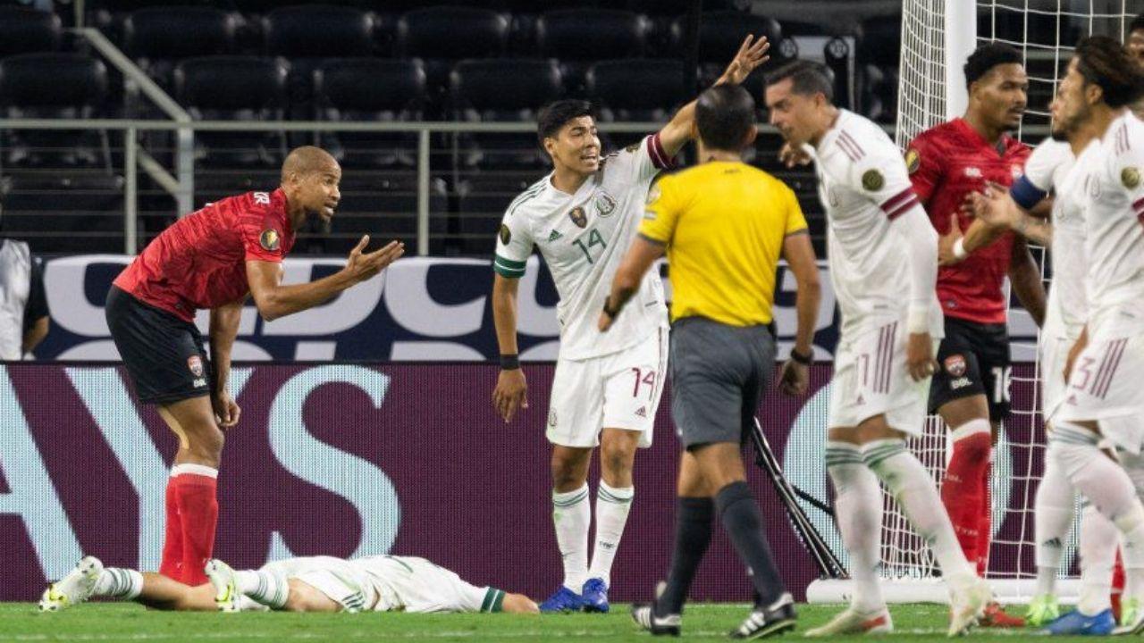México tuvo frustrante debut en la Copa Oro 2021 contra Trinidad y Tobago