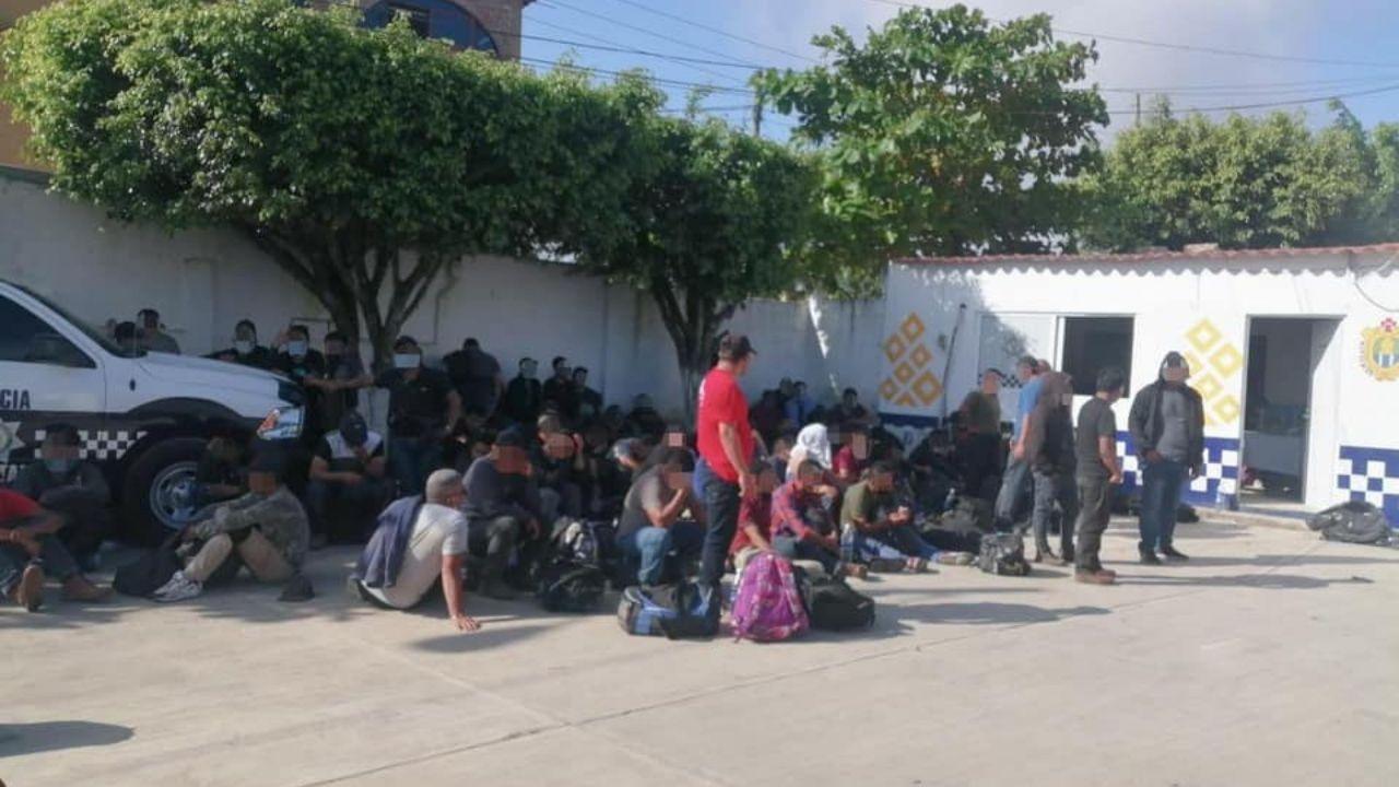 Rescatan a 39 migrantes hondureños en una vivienda en la frontera México-Estados Unidos