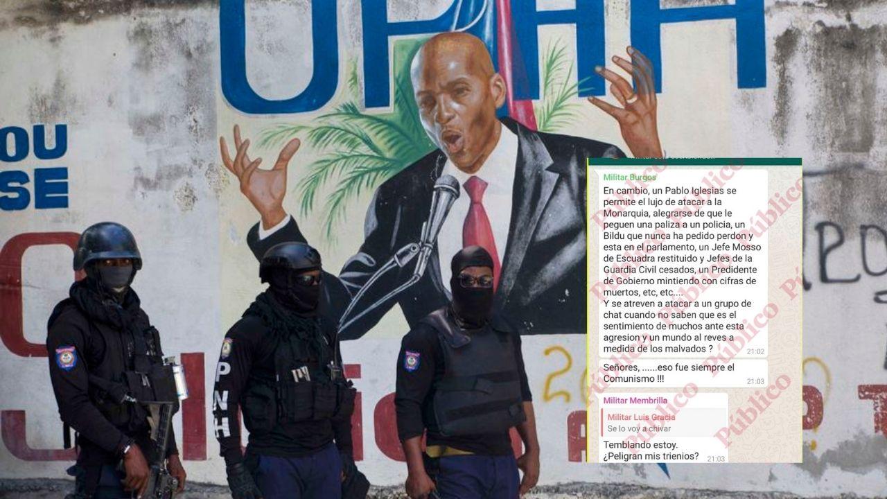 Estos mensajes en chat de WhatsApp revelan plan para  asesinar al presidente de Haití