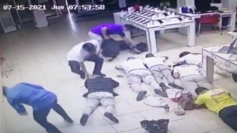 asalto en la ceiba