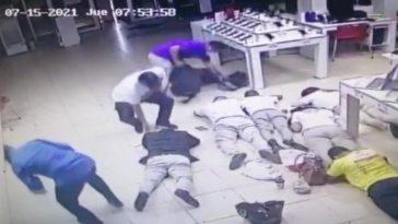 asalto a tienda honduras