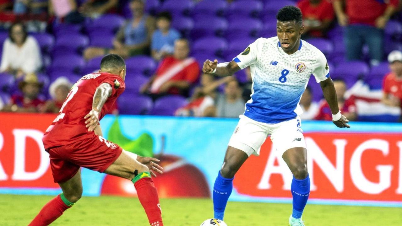 Costa Rica venció a Surinam y se metió a los cuartos de final en la Copa Oro 2021