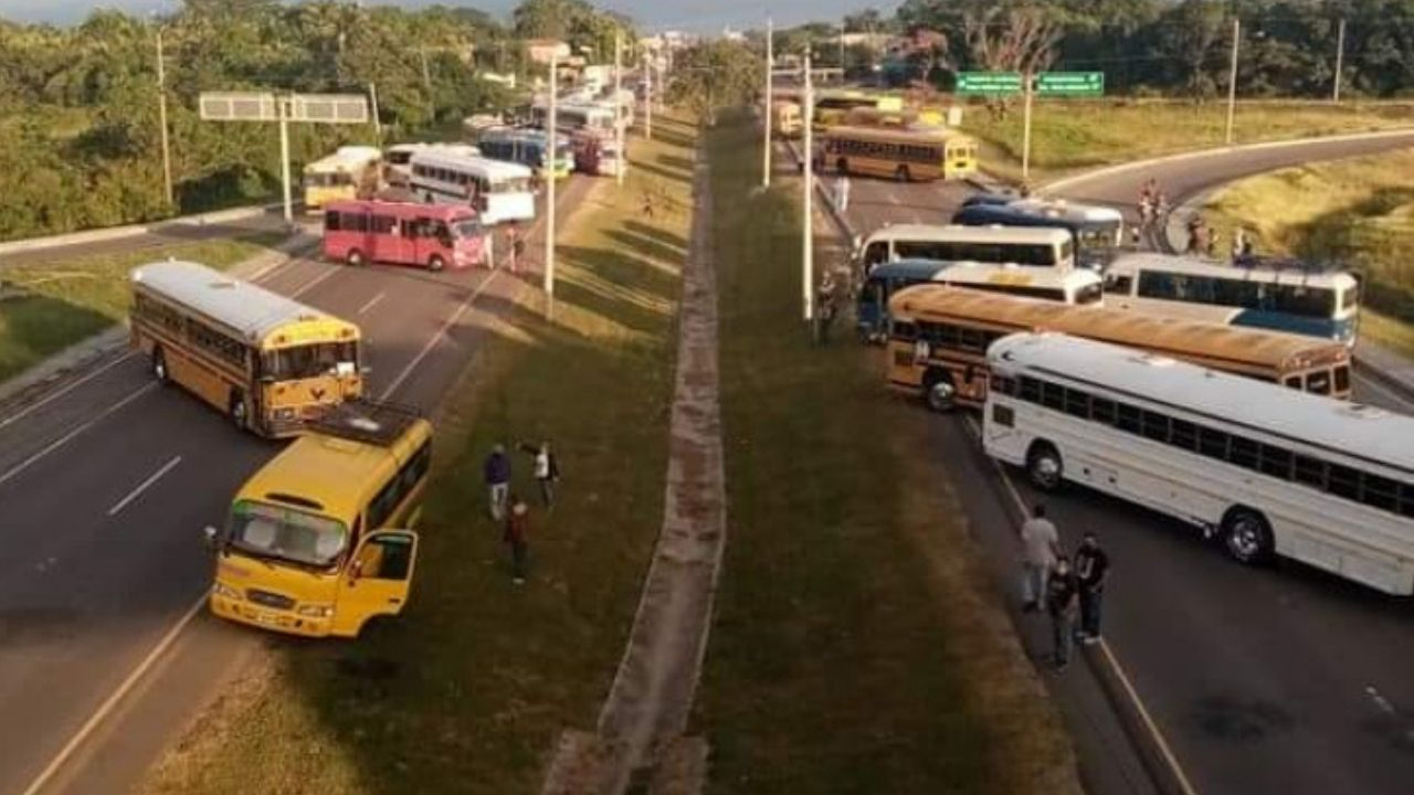 Pérdidas económicas millonarias dejó paralización del transporte en Honduras, según Fedecámaras