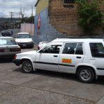Taxistas en protesta