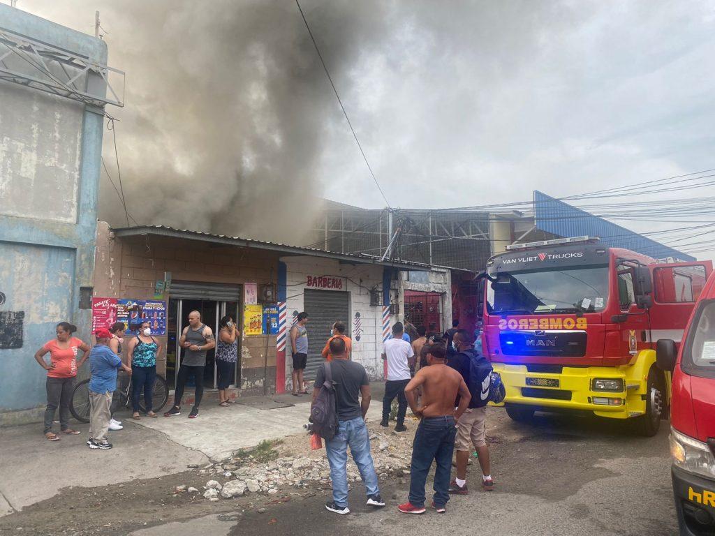 Incendio en San Pedro Sula, Honduras