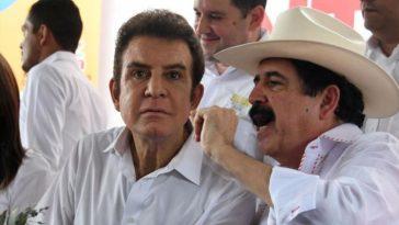 manuel zelaya rosales y salvador nasralla en dialogan sobre politica en honduras