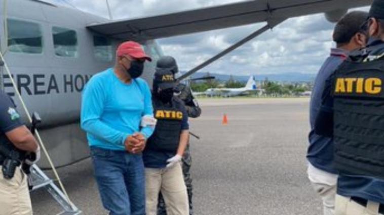 alcalde detenido en roatan, honduras