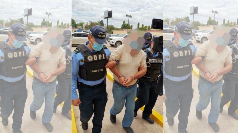 hondureño vinculado a los valle valles es escoltado por policias