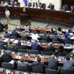 diputados del congreso nacional en sesion legislativa antes de la pandemia