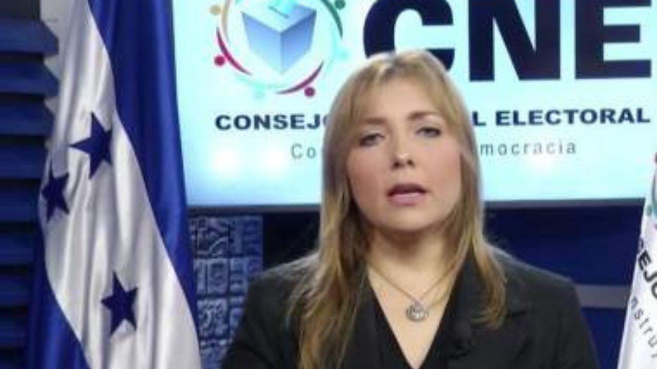 'Elecciones generales van a haber, llueva, truene o relampaguee': asegura consejera del CNE, Ana Paola Hall