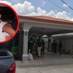 Los aseguramientos y allanamientos se realizan en 7 departamentos de Honduras.