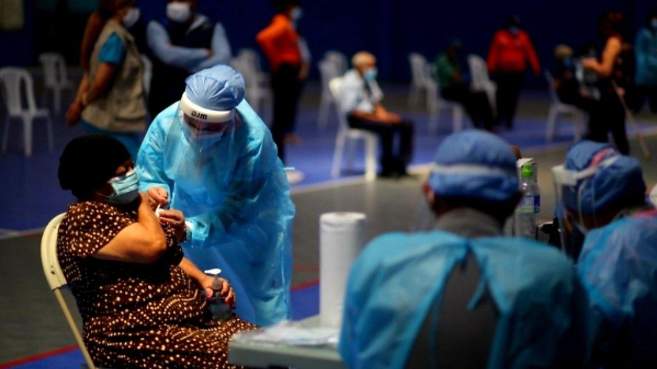 Más de 100 mil hondureños fueron inyectados contra el covid-19 en primera jornada del Vacunatón