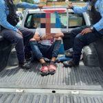 sujeto es detenido por matar a su suegro en honduras