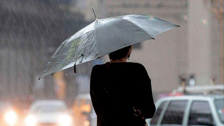 Lluvias se estarán registrando en varios lugares de Honduras