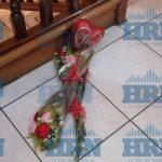 ramos de flores en la escena del crimen en caso asesinato de carolina echeverria haylock