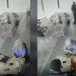 sujeto vestido se sacerdote le roba a clienta de restaurante en mexico