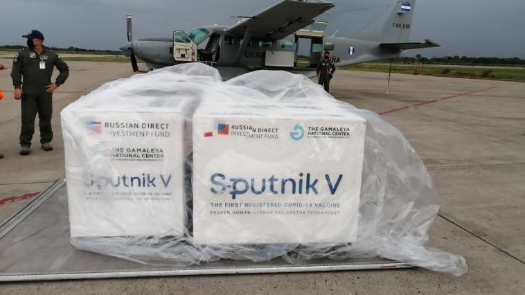 Llegan vacunas Sputnik V