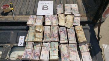 Hondureños detenidos por portar más de un millón de lempiras