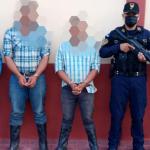 Detenidos por contrabando