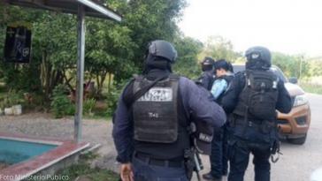 MP ejecuta acción contra banda criminal