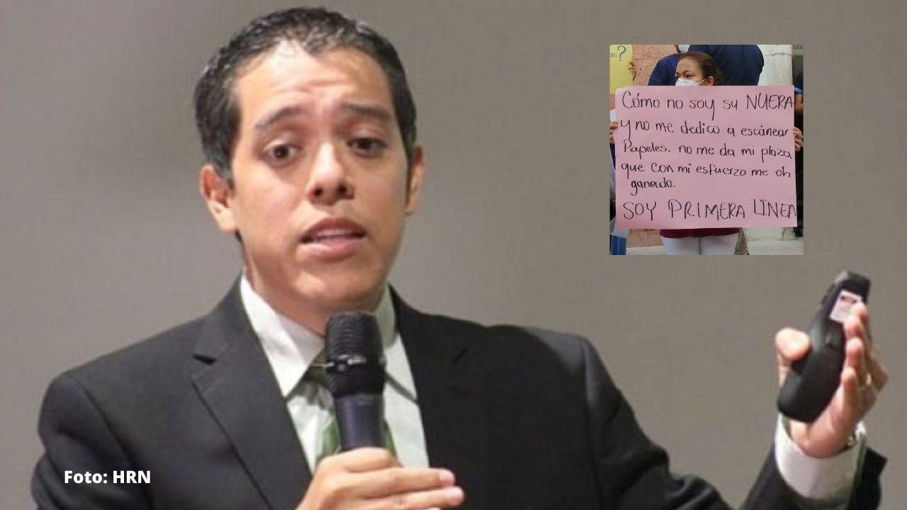 CNA sostiene que ministra de Salud benefició a hijos y nuera con plazas y jugosos salarios, pese a que Alba Flores lo niega