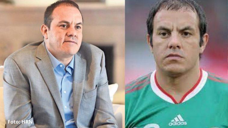 cuauhtémoc blanco, exjugador mexicano y gobernador