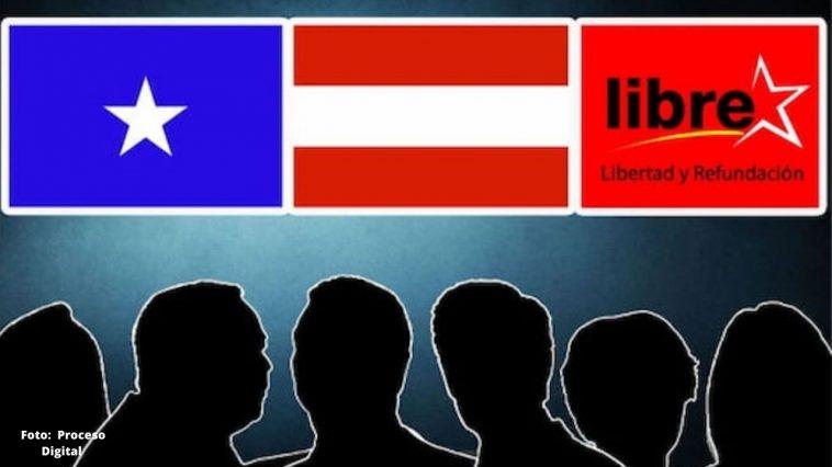 imagen de candidatos electorales de los partidos politicos tradicionales en honduras