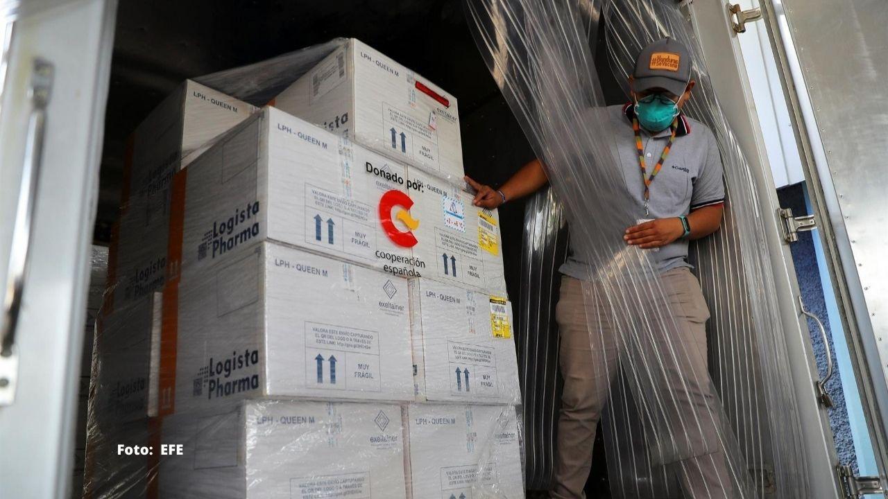 Honduras recibe otro lote de 105 mil 300 dosis de vacunas anticovid de Pfizer