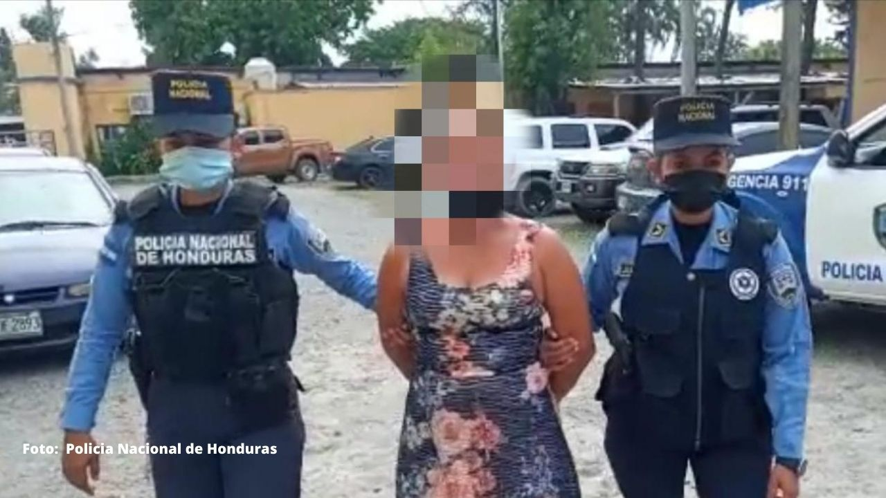 Capturan a mujer hondureña por asesinar a golpes a su hija de seis años